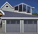 Custom Mixed Panel Garage Doors for Simi Valley, Camarillo, Fillmore, Moorpark