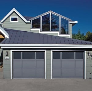 Custom Mixed Panel Garage Doors for Simi Valley, Camarillo, Fillmore, Moorpark