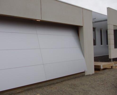 Aluminum one piece doors ventura county overhead door for 1 piece garage door
