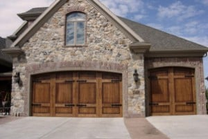 Wood Carriage Garage Doors For Oak Park, Ojai, Oxnard, Port Heuneme