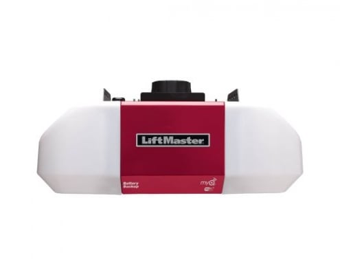 battery backup garage door opener