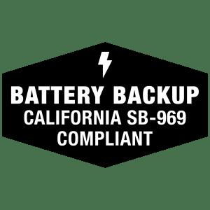 battery backup garage door opener